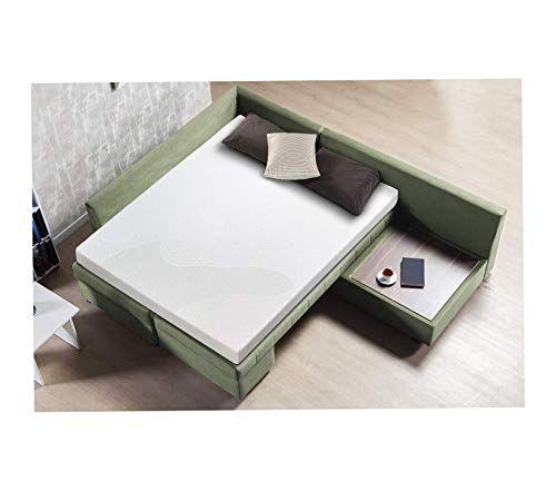 Gel Memory Foam 5 Inch Sleeper Sofa