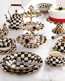 MacKenzie-Childs Courtly Check Dinnerware