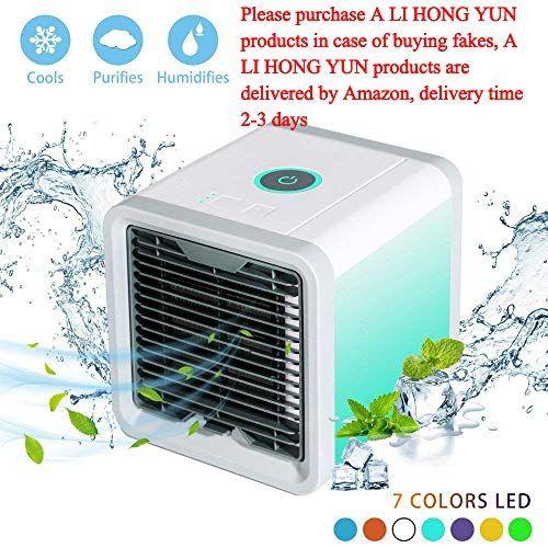 Nifogo Arctic Air Climatiseur Portable Ventilateur Usb Muitifonction 3 En 1 Mini Climat Portable Air Conditioner Portable Car Air Conditioner Air Conditioner