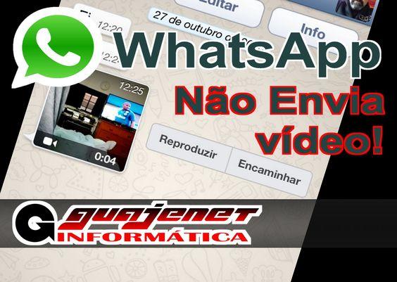 Whatsapp não envia vídeo (falha ao processar video) - Resolvido sem uso ...