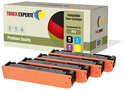 Set Of 4 Toner Experte Compatible With Hp 201x Cf400x Cf Https Www Amazon Co Uk Dp B01hk8ar84 Ref Cm Sw R Pi Dp X Dhimyb9r Toner Toner Cartridge
