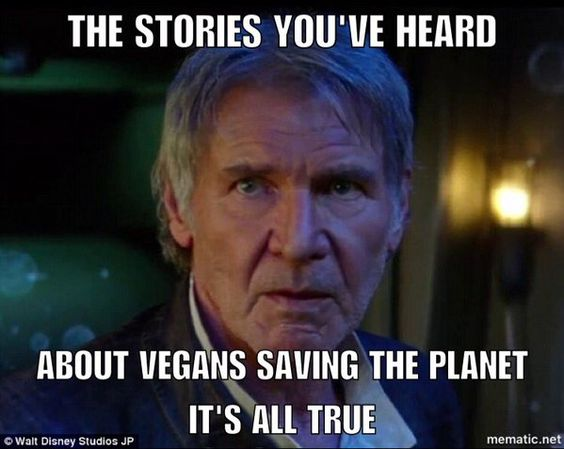 May the Vegan Force be with you...