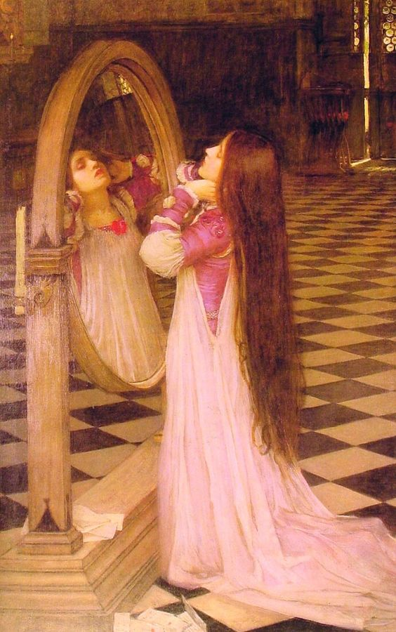 Mariana in the South (1897) by John William Waterhouse