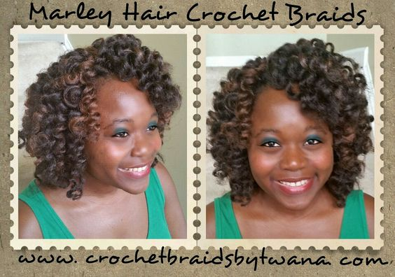 Crochet Hair Rollers : Crochet Braids Roller Set with Marley Hair in colors 4B & 30 www ...