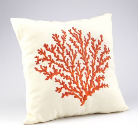 Coral pillows, Coral and Coral reefs on Pinterest