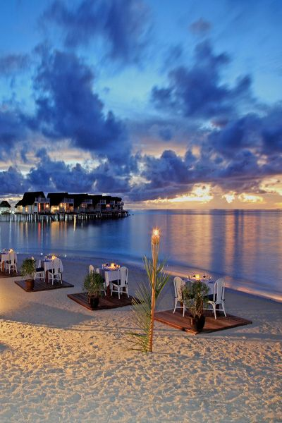 Maldives was the destination for our honeymoon then we returned 12 years later with our two kids....would return in a heartbeat