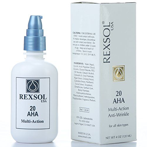 Cheap Rexsol 20 Aha Multi Action Anti Wrinkle Cream With Vitamin E Algae Extract Ginseng Extract Calendula Extract Caviar Extract Diminishes Appearance