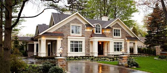 I kind of like the idea of driving through a carport on the side of the house, to get to an attached garage in the back. So the garage isn't visible from the front. (I know that is not at all what's going on here, this just made me think of it!)