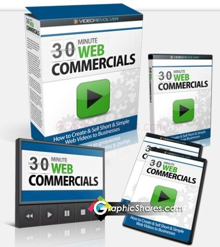 30 Minute Web Commercials How to Create and Sell Short & Simple Web Videos to Businesses - http://www.graphicshares.com/30-minute-web-commercials-how-to-create-and-sell-short-simple-web-videos-to-businesses/