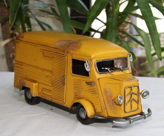 Neu - Citroen Bus Metall handgefertigt