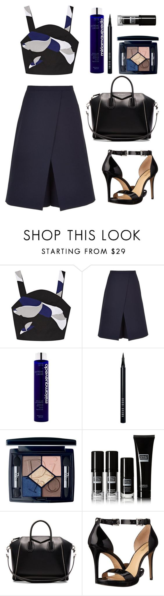 """""""Day 322"""" by msmaharaja ❤ liked on Polyvore featuring TIBI, Miriam Quevedo, Bobbi Brown Cosmetics, Christian Dior, Givenchy and MICHAEL Michael Kors"""