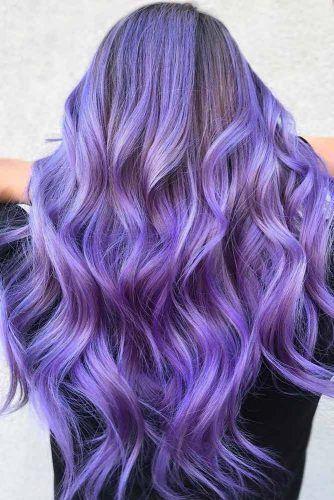 Verrassend 41 Ethereal Looks With Blue Hair (met afbeeldingen)   Paars haar IY-45