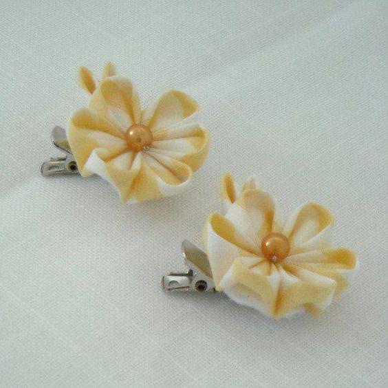 Meu Mundo Craft: Flores fuxiqueiras II