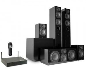 New Intimus 4T Summit Wireless Home Theater Speaker System from Aperion Audio