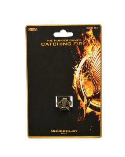 "NECA The Hunger Games: Catching Fire ""Mockingjay"" Ring NECA http://www.amazon.com/dp/B00FG74B8E/ref=cm_sw_r_pi_dp_BBTjub0GQK24H"