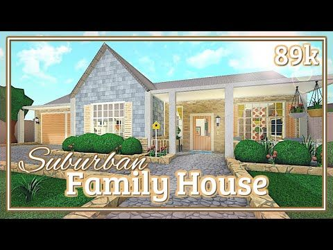 Pin By 𝖈𝖑𝖆𝖗𝖆 On Bloxburg Exterior Family House Modern Family House House Blueprints
