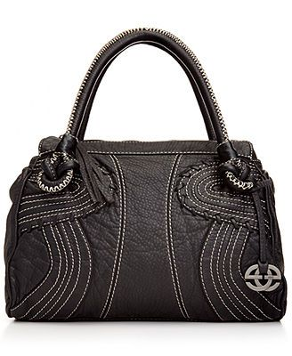 Red by Marc Ecko Trapunto Curves Satchel