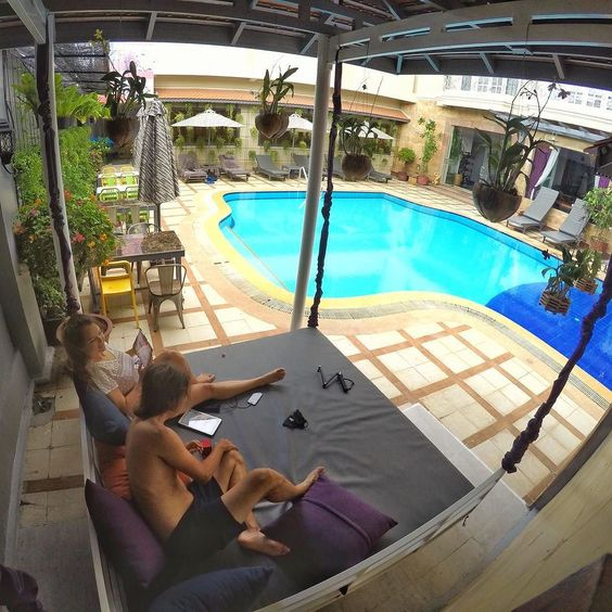 Taking a day out of our adventure for some pool time and travel planning (but really reading about the GoPro Hero 5)  #siemreap #cambodia #pool . . . . . . . #goprohero4 #couple #backpacker #backpackerlife #travelgoals #relationshipgoals #selfie #goprooftheday #photooftheday #wanderlust #travel #travellingtogether #travellingcouple #globetrotter #GoPro #getbackpacking #hero_adventure #goprowill #relax #herobyhero #goprodaily #goprostyles #GoWorldWide #gproworldwide #GoPro_Epic…