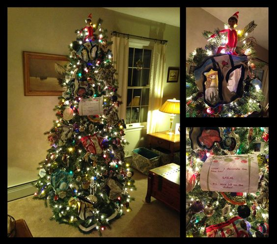 Underwear the X-Mass Tree