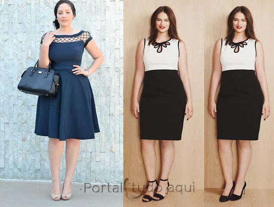 Vestidos que emagrecem – Dicas para não errar no look-comprimento-do-vestido