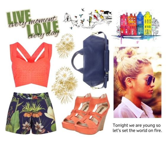 """""""LIVE EVERY MOMENT, LOVE EVERYDAY"""" by unique-n-original ❤ liked on Polyvore featuring River Island, INC International Concepts, Penfield, Reed Krakoff, ritaora, RiverIsland, ReedKrakoff, inc and penfield"""