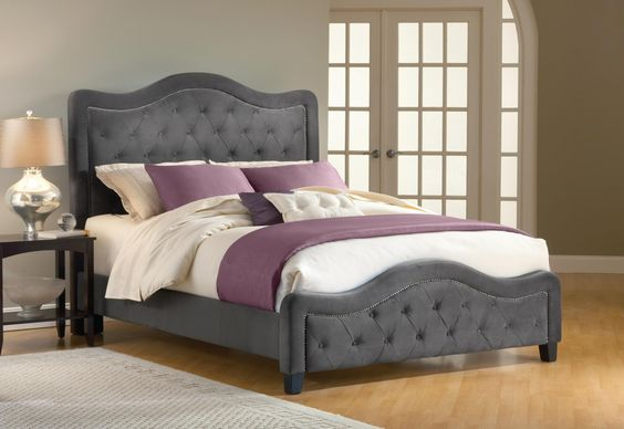 Classy, beautiful bed that I need!: 3/4 Beds, Color, Bedroom Design, Upholstered Beds