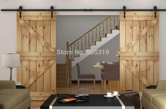 Portes coulissantes de grange portes de grange and for Quincaillerie porte de grange