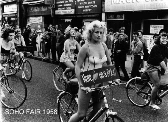 soho women bikers 1958