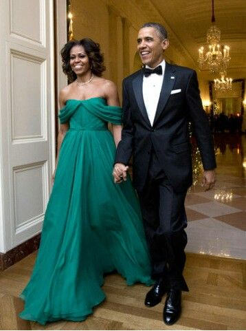 President Obama and his beatiful wife Machelle