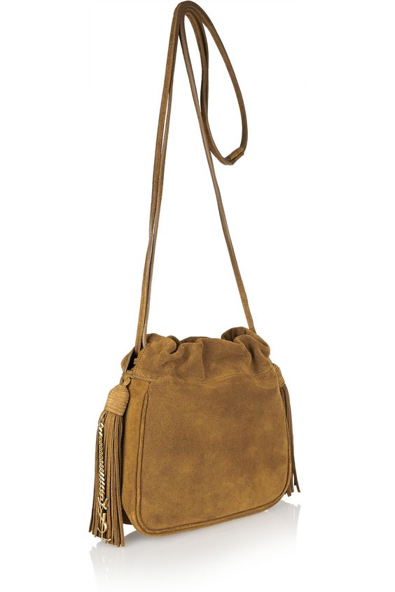ysl purse for sale - Saint Laurent | Helena small fringed suede shoulder bag | bolsos ...