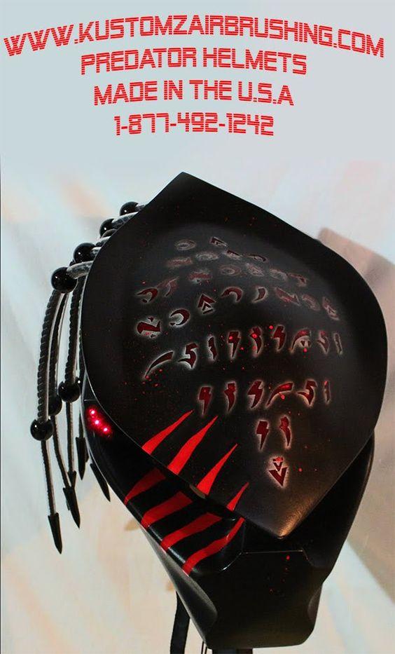 #predator #predatorhelmet #motorcyclehelmet #helmet #kustomz #kustomzair...