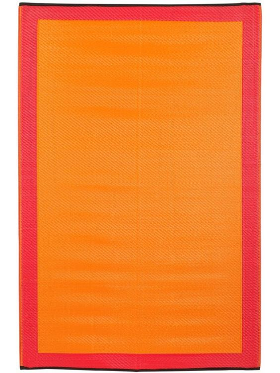 Mango Tango Reversible Indoor/Outdoor Rug