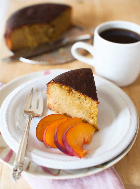 meyer lemon + oilve oil almond cake #glutenfree #grainfree #dairyfree
