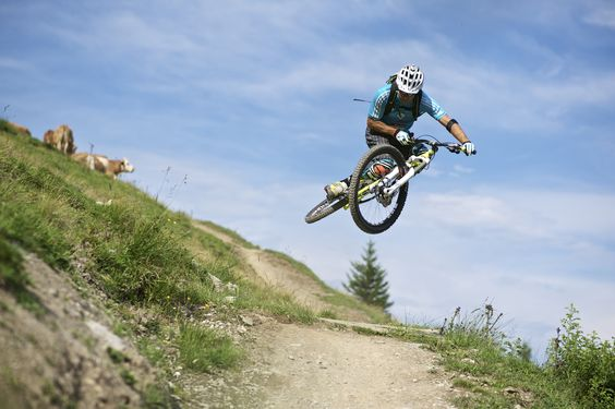 Airtime Trail in Hinterglemm https://www.hotel-talblick.at/mountaibike/freeride-biken-saalbach.html