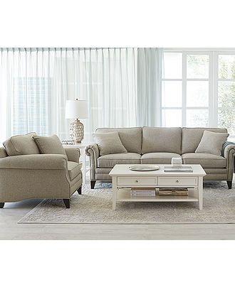 Scarlette Fabric Sofa Living Room Furniture Furniture Macy 39 S Living