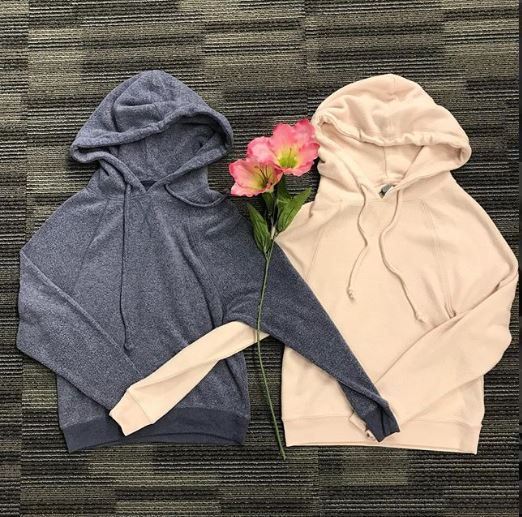 When You And Your Bestie Get Matching Hoodies Platoscloset Platosclosetoakville Oakvill Comfy Outfits Matching Hoodies Second Hand Clothing Stores