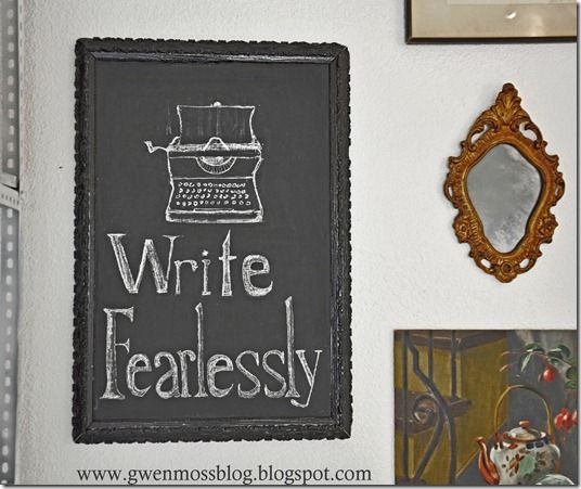 Gwen Moss: 10 things you should know about chalkboard art