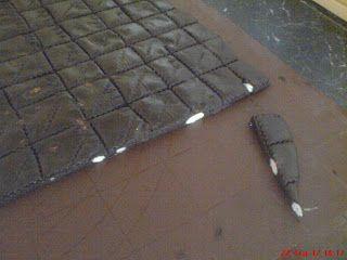 kolaci recepti: Tamna cokolada s bademima i cimetom-domaca cokolada