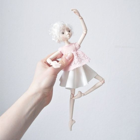 ballerina BJD | little beings | designed by alice