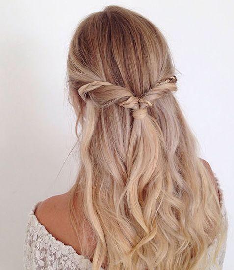43 Peinados Para Damas De Honor E Invitadas De La Boda El Blog De Una Novia Peinados Con Cabello Suelto Peinados Para Cabello Rizado Peinados