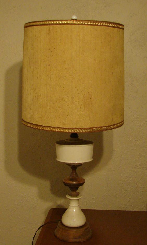 50's lamp, before