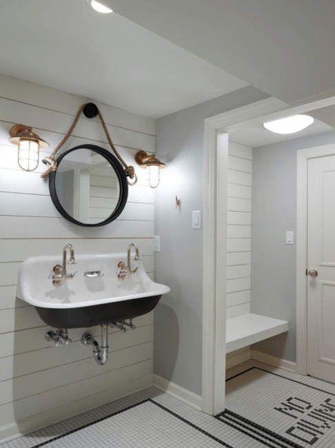 25 Adorable Basement Bathroom Ideas For Small Space Pool House Decor Small Basement Bathroom Pool House Bathroom