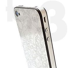 stainless steel iphone skin