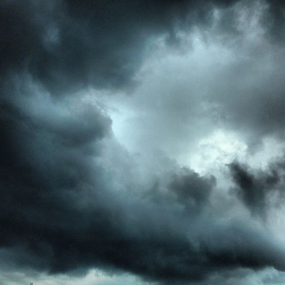 The storm - rainy day