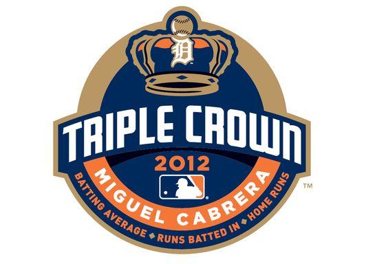 La MLB presentó el logo para conmemorar a Miguel Cabrera y su conquista de la Triple Corona, que no se lograba desde hace 45 años.