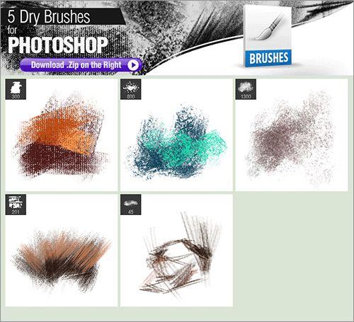 Photoshopでイラストやお絵描きする時にダウンロードしておきたい 無料で使えるphotoshopのブラシ素材のまとめ フォトショップ ドライブラッシング ブラシ