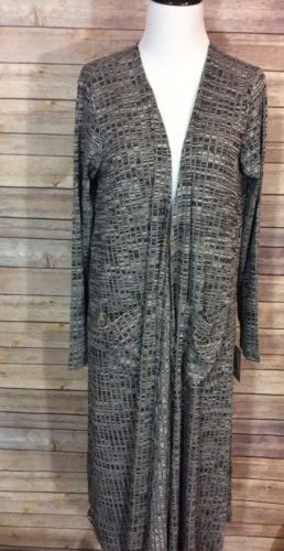 LuLaRoe M Medium Sarah Cardigan Long Duster Gray https://t.co/nNupRsjbWX https://t.co/voP6ov79at