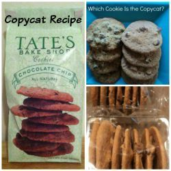 Enjoy this copycat recipe and review of Tate's Bake Shop chocolate chip cookies. Grade A plus