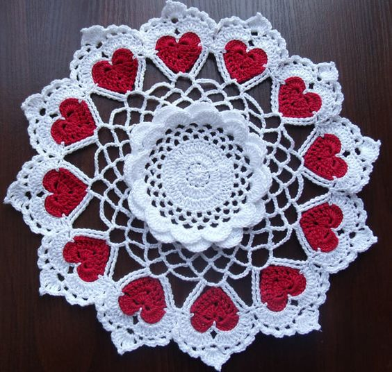 Red Heart Free Crochet Doily Patterns : Pinterest The world s catalog of ideas