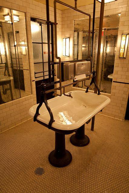 ... sink and more liquor bar liquor porcelain sink nyc sinks pedestal bar